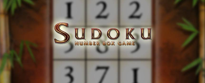 Play this innovative variation of the classic Japanese game, Sudoku, that's taken the world by storm! Sudoku is a game where players need to enter a numbers from one through nine into a special grid, making sure they do not repeat the number within the same row, column or region. In this version, you'll be able to thrive off the eye-catching design, multiple chances to win and many playing options. Combining the excitement of Sudoku with the fun of slots, you'll find Sudoku Number Box Game easy to play and easy to enjoy.