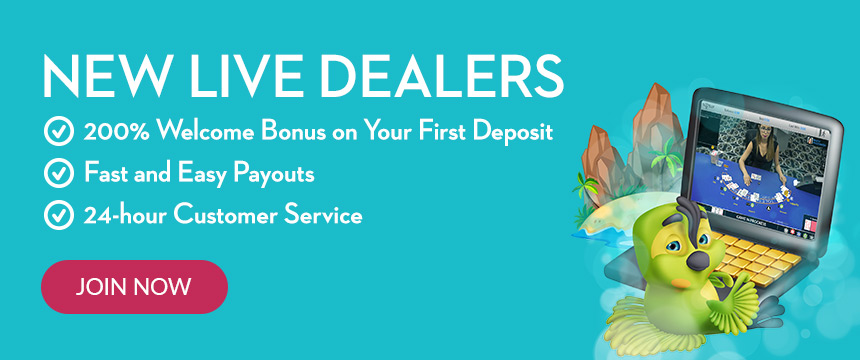 Join Now to Play Live Dealers for Real Money