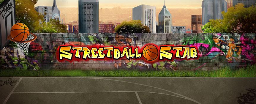 在Streetball Star(街球明星)游戏中,没有白天黑夜的界限,无论几点,室外篮球场上总是充满着快节奏。因为没有赔付线的限制,只要在连续卷轴上出现匹配图案就能让您轻松取得243种独特获胜方式。