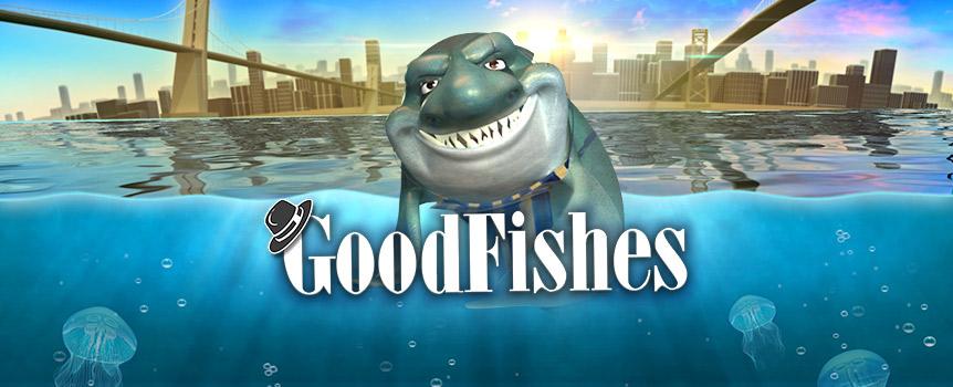 隐藏在曼哈顿河地下,有一个阴险狡猾的鱼帮派统治着整个流域。如果你看过他们的脸,必定过目不忘。这个可怕的帮派,由鱼贩子鲨鱼王Frankie带领。别被这个游戏的标题骗了,他们可不是什么好鱼。